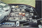 71 Ferrari 365GTC4 Engine