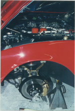 71 Ferrari 365GTC4 Front Suspension