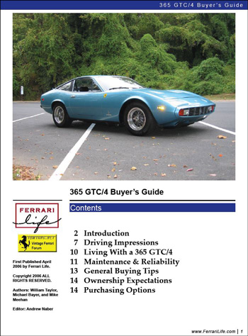 365 GTC/4 Buyers Guide - Ferrari Life, May 2006