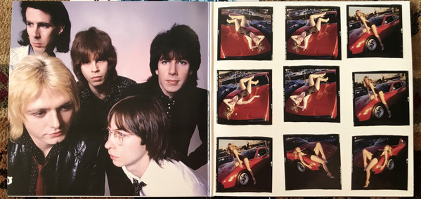 The Cars Candy-O extended version gatefold
