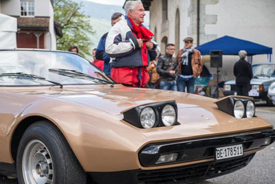 Felber Beach Car s/n 16017 at 2014 Concorso d'Eleganza Italiauto in Switzerland